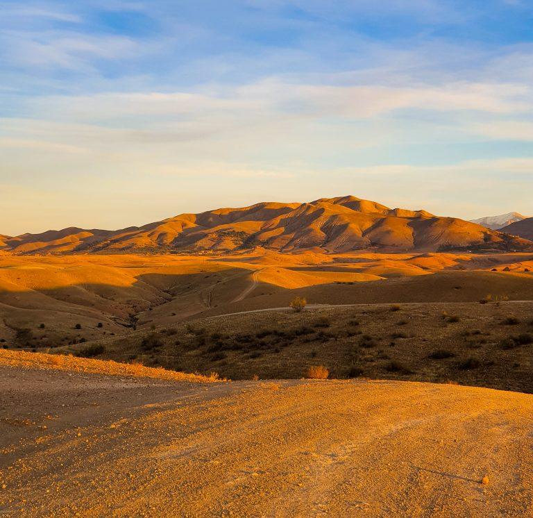 Quad biking in Agafay desert
